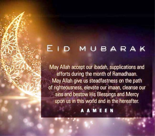 Happy Eid Mubarak Quotes 2021 Greetings And Messages